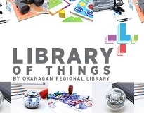 Image links info on what technology you can borrow from the Library of Things collection