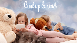 Children reading eBooks